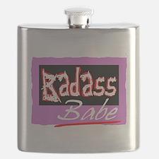 Badass Babe Flask