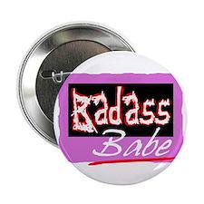 """Badass Babe 2.25"""" Button"""