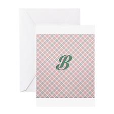 Monogram B Greeting Cards