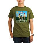 Bug Patrol Organic Men's T-Shirt (dark)