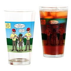 Bug Patrol Drinking Glass