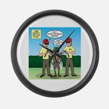 Bug Patrol Large Wall Clock