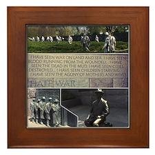 Franklin D Roosevelt  Framed Tile