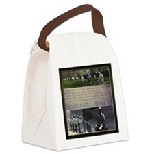 Franklin D Roosevelt  Canvas Lunch Bag