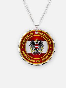Austria Medallion Necklace