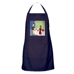 Dip Warning Apron (dark)