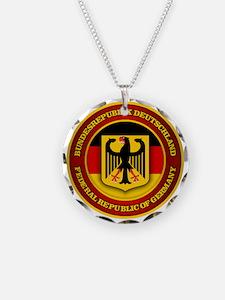 German Emblem Necklace