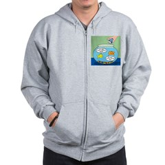 Filet of Fish Zip Hoodie