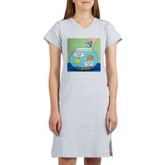 Filet of Fish Women's Nightshirt