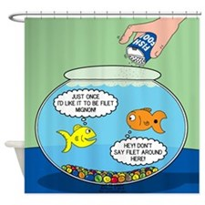 Filet of Fish Shower Curtain