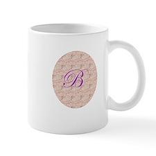 Monogram B in Circle Mugs