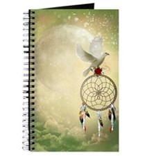 Dove Dreamcatcher Journal