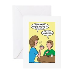 Fathers Day Discovery Greeting Card