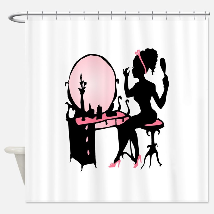 Black Beauty Shower Curtains