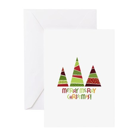 Merry merry christmas! Greeting Cards