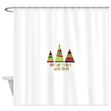 Merry merry christmas! Shower Curtain