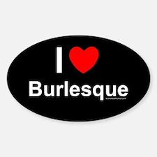 Burlesque Decal