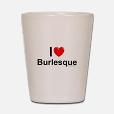 Burlesque Shot Glass