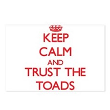 Keep calm and Trust the Toads Postcards (Package o
