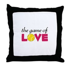The Game Of Love Throw Pillow