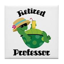 Retired College Professor Tile Coaster
