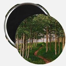 Cute Aspen grove Magnet