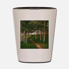 Cute Aspen grove Shot Glass