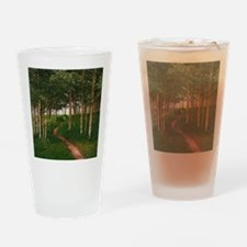 Cute Aspen grove Drinking Glass