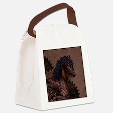 Steampunk Horse Canvas Lunch Bag