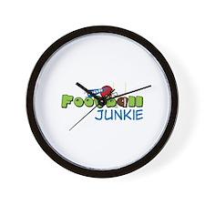 Football Junkie Wall Clock