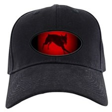 Running Doberman Pinscher Baseball Hat