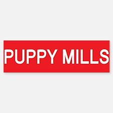 Stop Puppy Mills Bumper Bumper Bumper Sticker