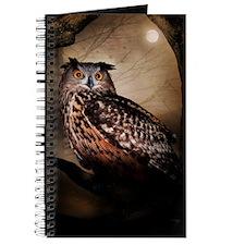 Halloween Owl Journal