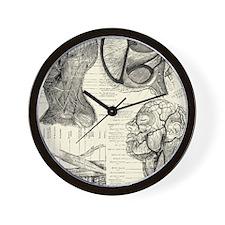 Anatomy Wall Clock