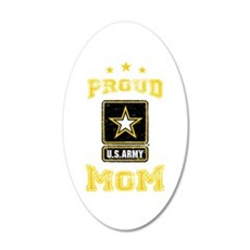 US Army proud Mom Wall Decal