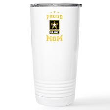 US Army proud Mom Travel Mug
