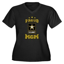 US Army proud Mom Plus Size T-Shirt
