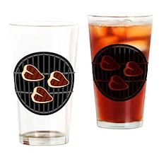 BBQ Grill Drinking Glass