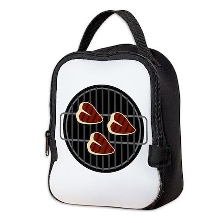 BBQ Grill Neoprene Lunch Bag