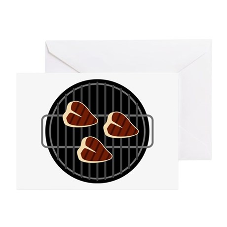 BBQ Grill Greeting Cards (Pk of 10)