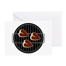BBQ Grill Greeting Card