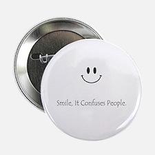 """Smile 2.25"""" Button"""