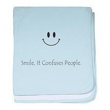 Smile baby blanket