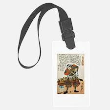 Samurai Asakura Saemonnokami Yos Luggage Tag