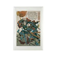 Samurai Fukushima Masan Rectangle Magnet (10 pack)
