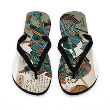 Samurai Fukushima Masanori Flip Flops