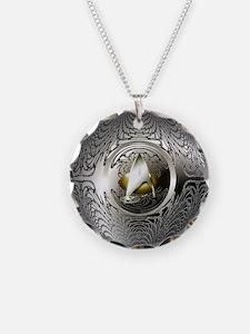 Silver Star Trek Necklace