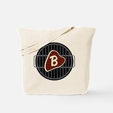 MONOGRAM BBQ Grill Tote Bag
