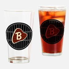 MONOGRAM BBQ Grill Drinking Glass