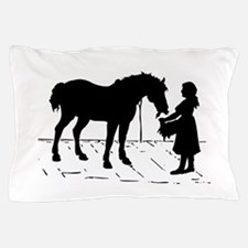 Horse & Girl Pillow Case